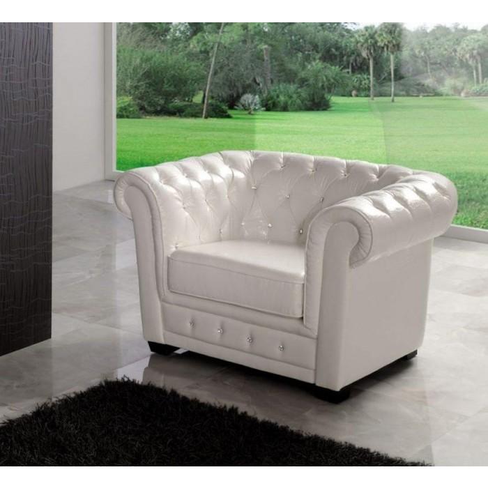 Кресло Dupen SF-24-1S White С