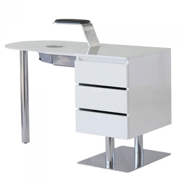 Маникюрный стол Star Nail Premium White С